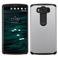 Asmyna Astronoot Protector Cover for Lg H901 (V10) - Silver / Black
