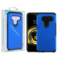 Asmyna Astronoot Protector Cover for Lg V50 ThinQ - Blue / Black