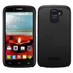 Asmyna Astronoot Protector Cover for Alcatel 7040 (One Touch Fierce II) - Black / Black
