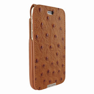 Piel Frama 770 Tan Ostrich UltraSliMagnum Leather Case for Apple iPhone 7 / 8