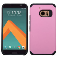 Asmyna Astronoot Protector Cover for Htc 10 - Pink / Black