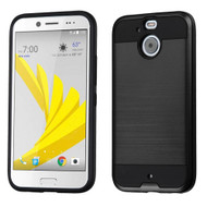 Asmyna Brushed Hybrid Protector Cover for Htc BOLT - Black / Black