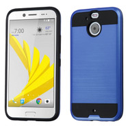 Asmyna Brushed Hybrid Protector Cover for Htc BOLT - Dark Blue / Black