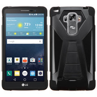 Asmyna Advanced Armor Stand Protector Cover for Lg H740 (G Vista 2) - Black Inverse