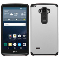 Asmyna Astronoot Protector Cover for Lg LS770 (G Stylo) - Silver / Black