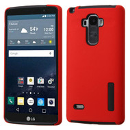 Asmyna Hybrid Protector Cover for Lg LS770 (G Stylo) - Red / Black