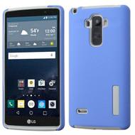Asmyna Hybrid Protector Cover for Lg LS770 (G Stylo) - Blue / Gray