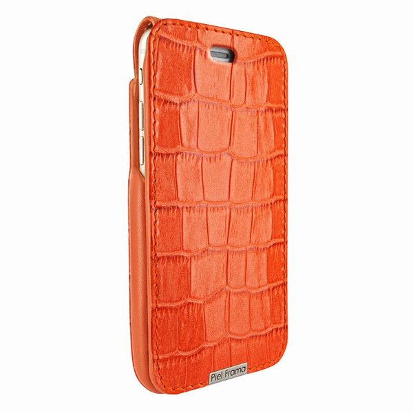 Piel Frama 771 Orange Crocodile UltraSliMagnum Leather Case for Apple iPhone 7 Plus / 8 Plus
