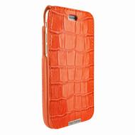 Piel Frama 771 Orange Crocodile UltraSliMagnum Leather Case for Apple iPhone 7 Plus / 8 Plus