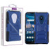 Asmyna Advanced Armor Stand Protector Cover for Nokia C5 Endi - Dark Blue / Black
