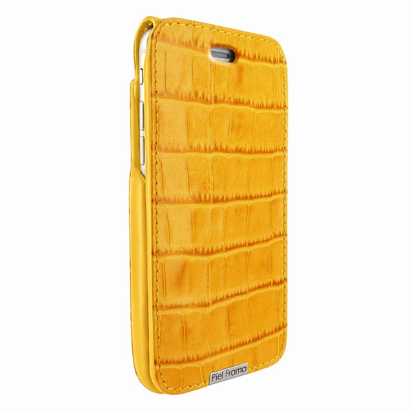 Piel Frama 771 Yellow Crocodile UltraSliMagnum Leather Case for Apple iPhone 7 Plus