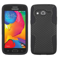 Asmyna Astronoot Protector Cover for Samsung G386T (Galaxy Avant) - Black / Black