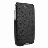 Piel Frama 771 Black Ostrich UltraSliMagnum Leather Case for Apple iPhone 7 Plus