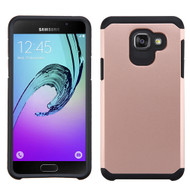 Asmyna Astronoot Protector Cover for Samsung Galaxy A5 (2016) - Rose Gold / Black