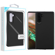 Asmyna Astronoot Protector Cover for Samsung Galaxy Note 10 (6.3) - Black / Black