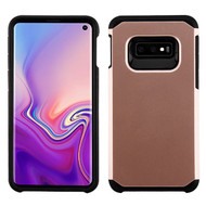 Asmyna Astronoot Protector Cover for Samsung Galaxy S10E - Rose Gold / Black