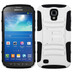 Asmyna Advanced Armor Stand Protector Cover for Samsung i537 (Galaxy S4 Active) - White / Black