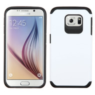 Asmyna Astronoot Protector Cover for Samsung G920 (Galaxy S6) - White / Black