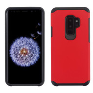 Asmyna Astronoot Protector Cover for Samsung Galaxy S9 Plus - Red / Black