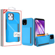 MyBat Poket Hybrid Protector Cover (with Back Film) for Google Pixel 4 XL - Blue / Gray