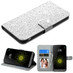 MyBat Diamante MyJacket Wallet for Lg G5 - Silver