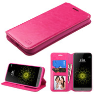 MyBat MyJacket Wallet Element Series for Lg G5 - Hot Pink