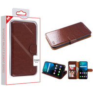 MyBat MyJacket Wallet Element Series for Lg Harmony 4 - Brown