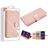 MyBat MyJacket Wallet Xtra Series for Lg X320 (Escape Plus) - Rose Gold