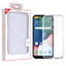 MyBat Candy Skin Cover for Lg K31 (Aristo 5)/Fortune 3 - Glossy Transparent Clear