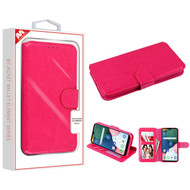 MyBat MyJacket Wallet Element Series for Lg K31 (Aristo 5)/Fortune 3 - Hot Pink