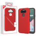 MyBat Fuse Hybrid Protector Cover for Lg K31 (Aristo 5)/Fortune 3 - Rubberized Red / Black