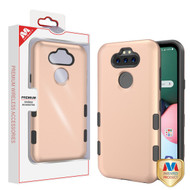 MyBat TUFF Subs Hybrid Case for Lg K31 (Aristo 5)/Fortune 3 - Rose Gold / Black