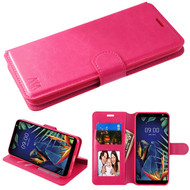 MyBat MyJacket Wallet Element Series for Lg K40 - Hot Pink