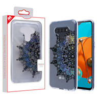 MyBat Fusion Protector Cover for Lg K51 - Transparent Classical Hot Color