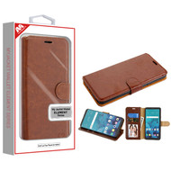 MyBat MyJacket Wallet Element Series for Lg Stylo 4 - Brown