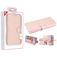 MyBat MyJacket Wallet Xtra Series for Lg Stylo 6 - Rose Gold