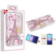 MyBat MyJacket Wallet Diamond Series for Motorola Moto E (2020) - Eiffel Tower