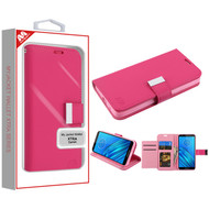 MyBat MyJacket Wallet Xtra Series for Motorola Moto E6 - Hot Pink / Pink