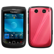 MyBat Cosmo Protector Cover for Blackberry 9810 (Torch 4G) - Red