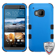 MyBat TUFF Hybrid Protector Cover [Military-Grade Certified] for Htc One M9 - Natural Dark Blue / Black