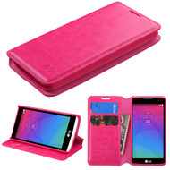 MyBat MyJacket Wallet Element Series for Lg C40 (Leon)/H320 - Hot Pink