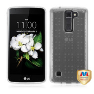 MyBat SPOTS Candy Skin Cover for Lg MS330 (K7) - Glassy Transparent Clear