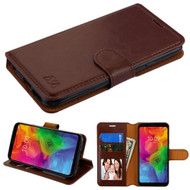 MyBat MyJacket Wallet Element Series for Lg Q7 - Brown