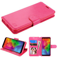 MyBat MyJacket Wallet Element Series for Lg Q7 - Hot Pink