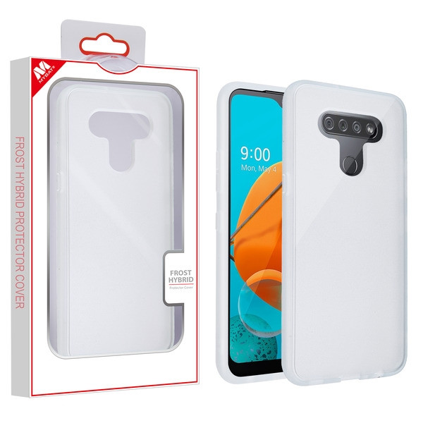MyBat Frost Hybrid Protector Cover for Lg Reflect - Semi Transparent White Frosted / Rubberized Semi Transparent White