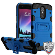 MyBat Storm Tank Hybrid Protector Cover [Military-Grade Certified] for Lg V5/TP2608 (K20 PLUS) - Blue / Black