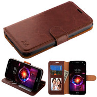 MyBat MyJacket Wallet Element Series for Lg X Power 3 - Brown