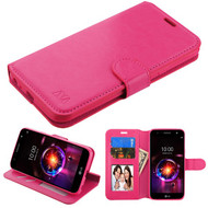 MyBat MyJacket Wallet Element Series for Lg X Power 3 - Hot Pink