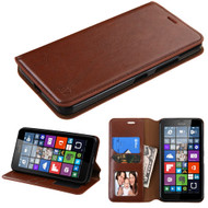 MyBat MyJacket Wallet Element Series for Microsoft Lumia 640 XL - Brown