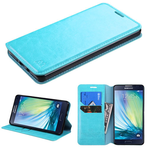 MyBat MyJacket Wallet Element Series for Samsung A700 (Galaxy A7) - Blue